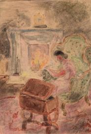 """""""Ne bouges pas du vieux fauteuil au coin du feu """" Suzanne Humbert"""