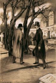 Georges Drechsler Rencontre au cimetière