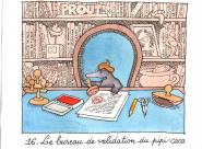 Le bureau de validation du pipi-caca - Les Coulisses du Livre Jeunesse Gilles Bachelet