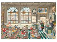 La salle de classe - Madame le Lapin Blanc Gilles Bachelet