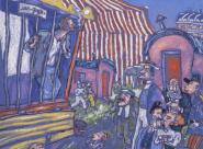 Van Gogh circus Mandray