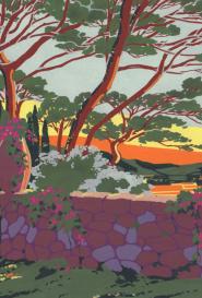Les pins Parasols artiste inconnu