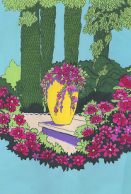 La jarre fleurie artiste inconnu