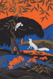 Le corbeau et le renard artiste inconnu