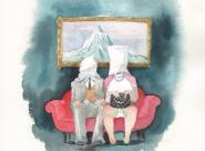 GALERIE TREIZE-DIX / TEA TIME Chloé Cruchaudet