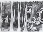 GALERIE TREIZE-DIX / AU BOIS Chloé Cruchaudet