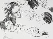 GALERIE TREIZE-DIX / VIOLENCE Chloé Cruchaudet