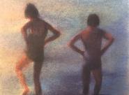 GALERIE TREIZE-DIX | AUTRE JE Anne Gorouben, La bretagne l'été, c'est la splendeur des ciels et l'eau froide