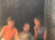 GALERIE TREIZE-DIX I AUTRE JE Anne Gorouben, Trois enfants, c'est toujours deux et une