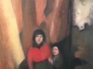 GALERIE TREIZE-DIX I AUTRE JE Anne Gorouben, Comme la petite s'accroche à l'aînée dans l'atelier