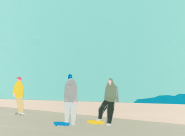 GALERIE TREIZE-DIX I AUTRE JE Taku Bannai, Skatepark