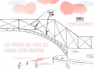 GALERIE TREIZE-DIX I TRENTE-SIX VUES DU CANAL SAINT-MARTIN SERGE BLOCH