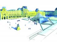 GALERIE TREIZE-DIX I LUCILE PIKETTY Les toits du Louvre, vue de l'aile Denon