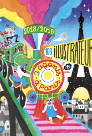 Catalogue 2018-2019 3 agents à Paris, 100 illustrateurs