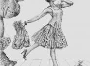 GALERIE TREIZE-DIX I Førtifem Work of love - Le tutu