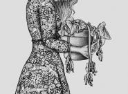 GALERIE TREIZE-DIX I Førtifem Work of love - Les broderies à fleurs