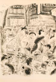 Grands Boulevards Paris 1937
