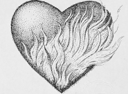 GALERIE TREIZE-DIX I Førtifem Work of love - Cœur ardent