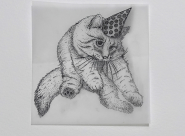 GALERIE TREIZE-DIX I Førtifem Work of love - Cats in hats 4