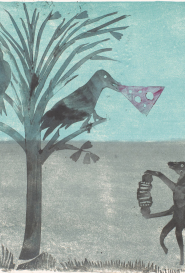 Le corbeau et le renard Atelier Ange Boaretto