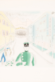 Couple marchant
