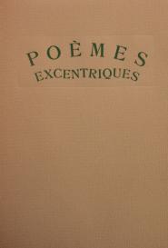 Poèmes excentriques Livre