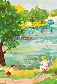 Hélène Poirié Au bord de la rivière