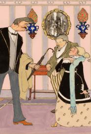 Henri Avelot Scène de famille