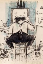 Le peintre Atelier Tetsu