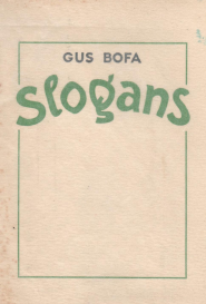 Gus Bofa Slogans