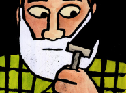 Jean Jullien Shave